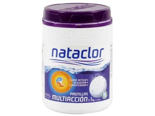 Cloro en Pastillas Multiacción 200Gr De 1Kg Nataclor