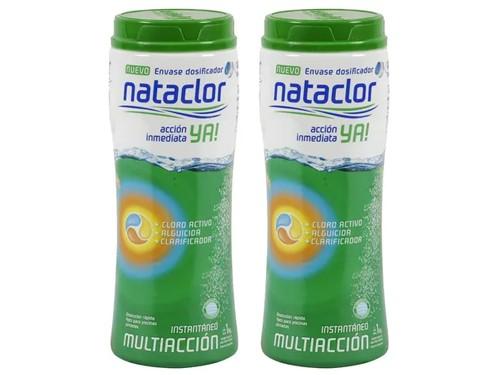 Cloro Instantáneo Multiacción Dicloro Ya 1 Kilo Nataclor x 2