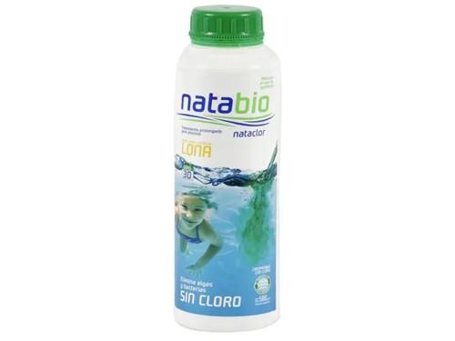 Natabio Tratamiento Para Pileta Lona Sin Cloro 500Cc Nataclor
