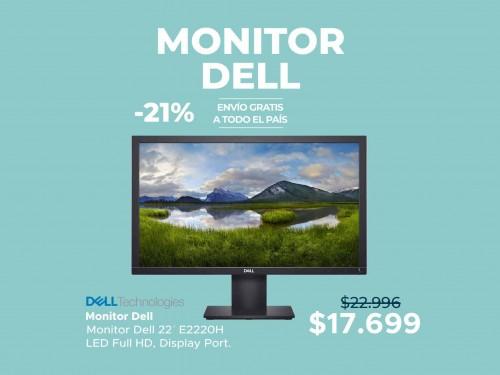 "Monitor Dell 22"" Full HD Display Port"