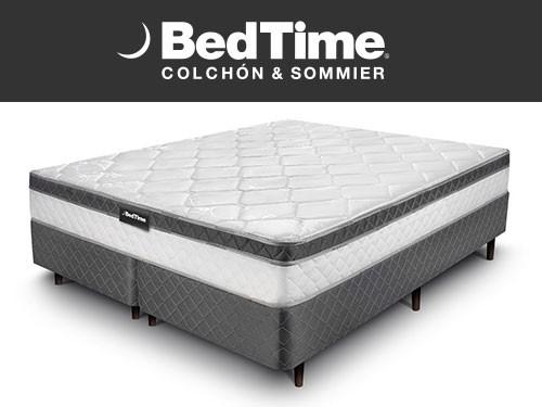 Sommier y Colchon Vibrant Queen 180x200 BedTime