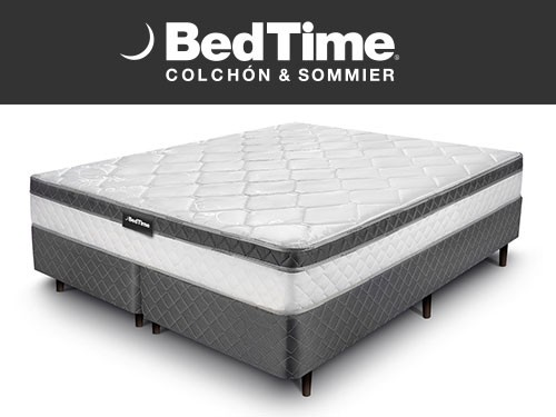 Sommier y Colchon Vibrant Queen 160x200 BedTime