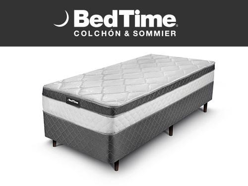 Sommier y Colchon Vibrant 1 Plaza 80X190 BedTime