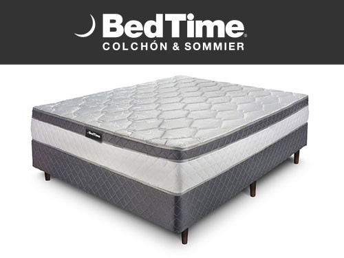 Sommier y Colchon Holiday 2 Plazas 140x190 BedTime