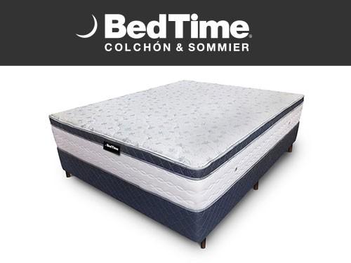 Sommier y Colchon Believe It 2 Plazas 140x190  BedTime