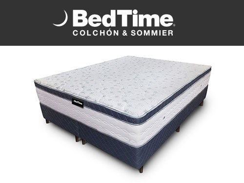 Sommier y Colchon Believe It Queen 180x200   BedTime