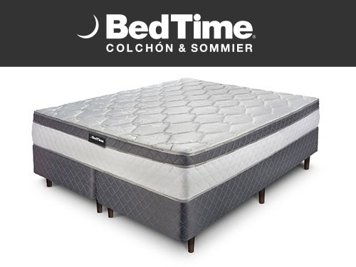 Sommier y Colchon Holiday Queen 160x200 BedTime