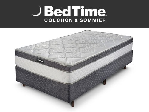 Sommier y Colchon Holiday 1 Plaza 80X190 BedTime