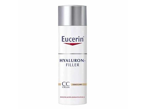 Eucerin Hyalluron filler CC cream x 50 ml con efecto relleno .