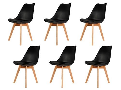 Silla Tulip Eames Nordica Moderna Comedor Cocina x6
