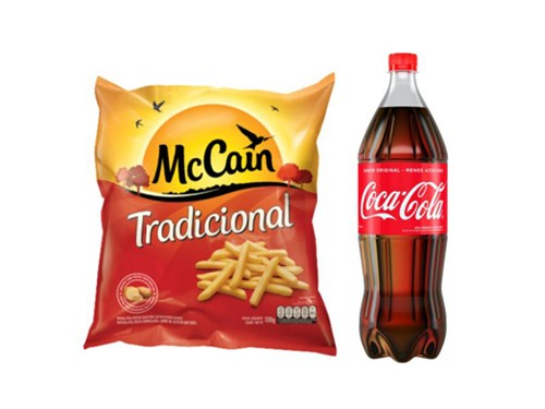 McCain Papas Bastón Tradicional 720g + Coca-Cola Sabor Original 1.5 L