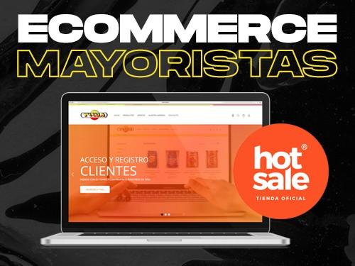 Ecommerce Mayorista sin comisiones x venta con medios de pago y envíos
