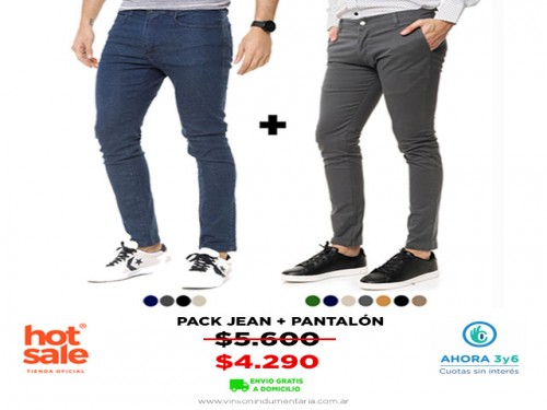 Pack Jean+Pantalon VINSON