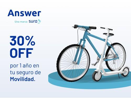 Seguro de Movilidad - Hasta $20.000