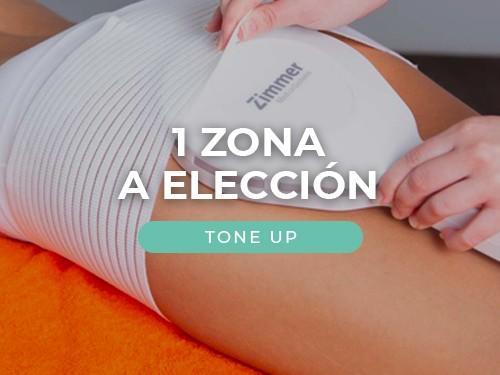 8 Sesiones de ToneUp en 1 Zona a Elección