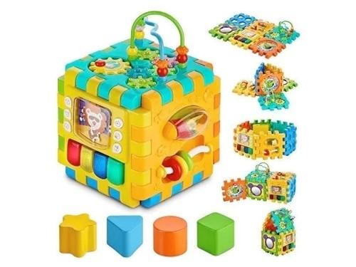Cubo De Actividades Goodway 6 En 1 Juguete Educativo 2850