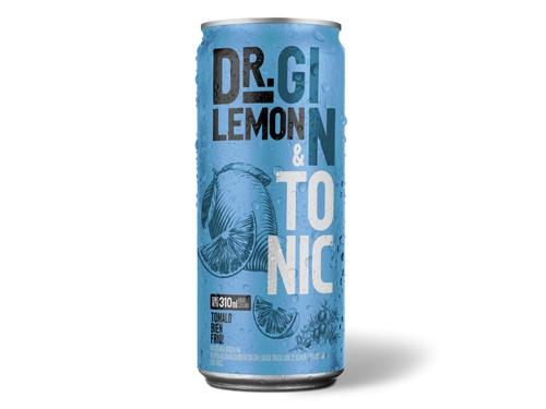 Dr Lemon Gin Tonic 310 ml x 6