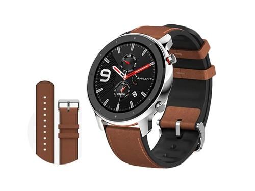 Smartwatch Amazfit GTR 47 mm Malla de Cuero