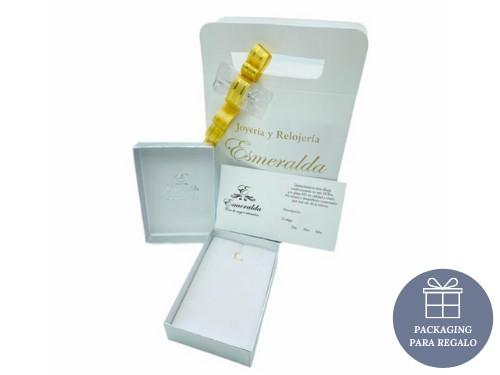 Pulsera Plata 925 y Oro Tejida 6mm Árbol de la Vida Nácar Mosquetón