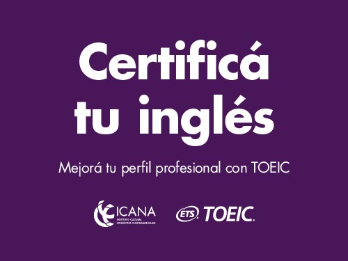 EXAMEN: TOEIC Certificate for the Workplace