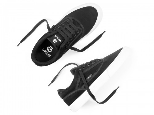 Zapatillas Vicus Genesis Gamuza Negro