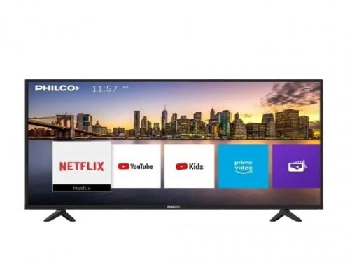 "SMART TV LED 55"" PLD55US9A1 4K HDMI USB TDA PHILCO"