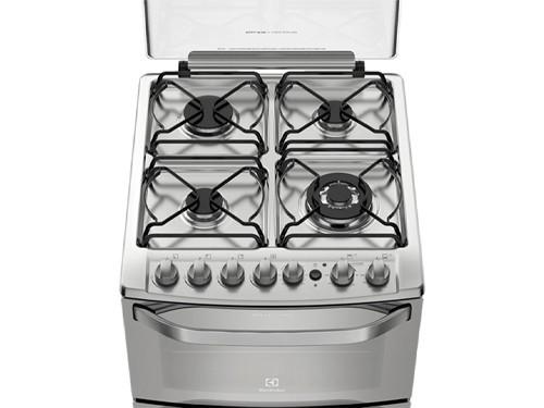 Cocina 56 Cm. Inoxidable Doble Horno Electrolux