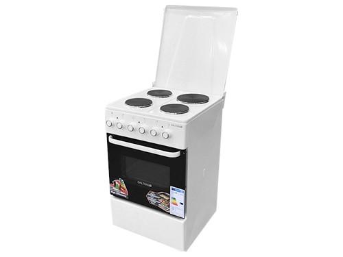 Cocina Eléctrica Blanca 50x50cm Slim Termostato Clase A Dalton