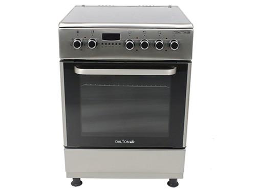 Cocina Eléctrica Vitrocerámica Inoxidable 60x60cm 4 placas Dalton