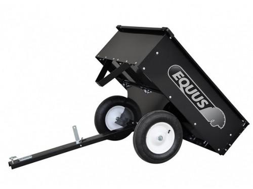 Mini Trailer Para Cuatriciclo O Tractorcito con Volcador Equus