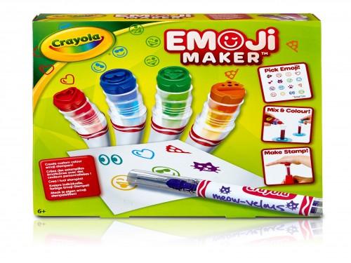 Fábrica de Marcadores Crayola para Emojis