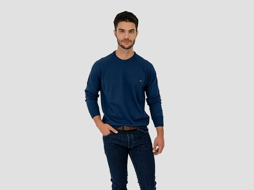 Sweater Algodón Marino Pato Pampa