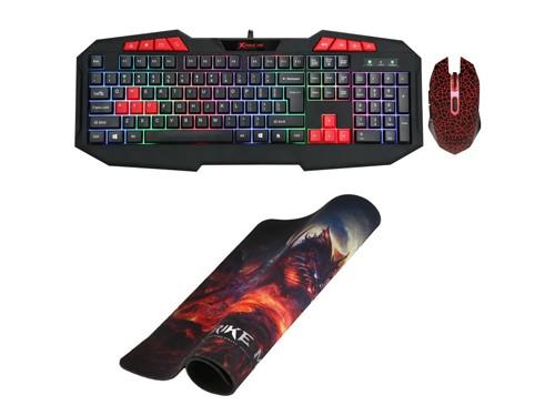 Kit Gamer Xtrike Me teclado y mouse MK-503