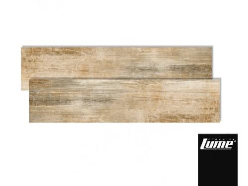 porcelanico lume 20x120 Adara Beige simil madera rectificado meggagres