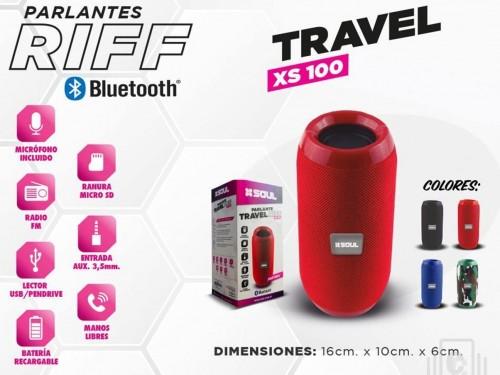 PARLANTE BLUETOOTH XS100 TRAVEL RIFF S