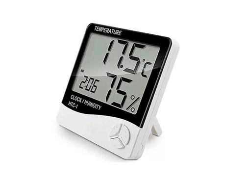 Reloj termometro - higtometro digital de interior HTC-1