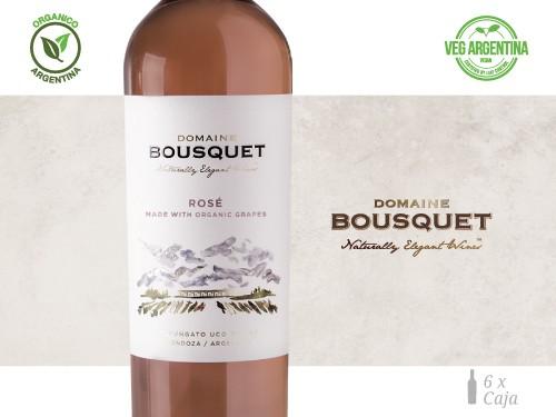 Vino Rose Premium Organico 6x750 ml. Domaine Bousquet