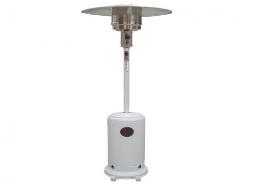 Calefactor Estufa Exterior Patio A Gas Tipo Hongo Ruedas