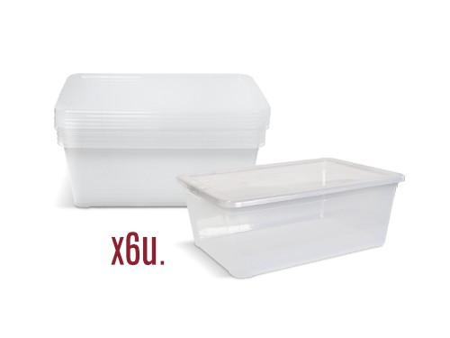 SET DE CAJAS COLOBOX VISTA N.2 X 6 U. (6054X6)