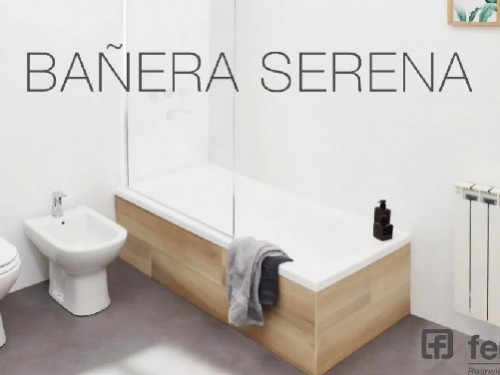 Bañera Ferrum Serena Acrilica 150x70