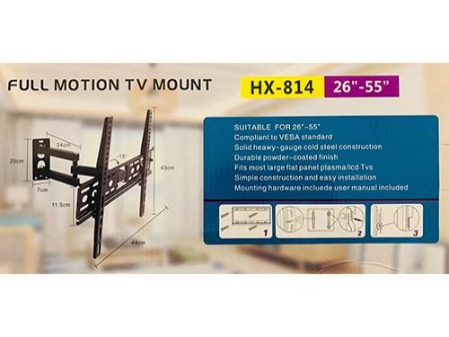 """Soporte para TV con brazo móvil para pantallas de 26"""" a 55""""."""