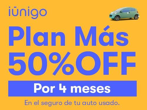 Seguro de terceros completos para tu auto usado a 50% OFF por 4 meses