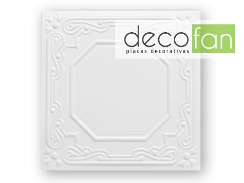 Placa para Techo Adhesiva Aislante liviana y económica Decofan