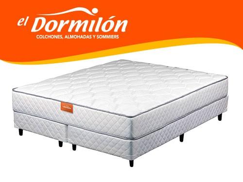 Sommier y Colchon King 200x200 DEVAS El Dormilon