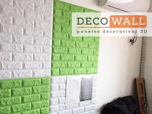 Placa de pared Revestimiento Autoadhesivo 3D Aislante Decowall