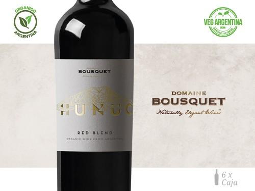 Vino Red Blend Organico 6x750 ml. Hunuc