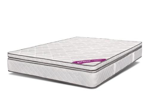 Colchon Queen Size 160x190 Espuma 1 Pillow Emperador