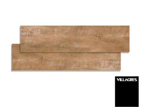 Porcelanato 20x140 villagres cerato carvalho simil madera