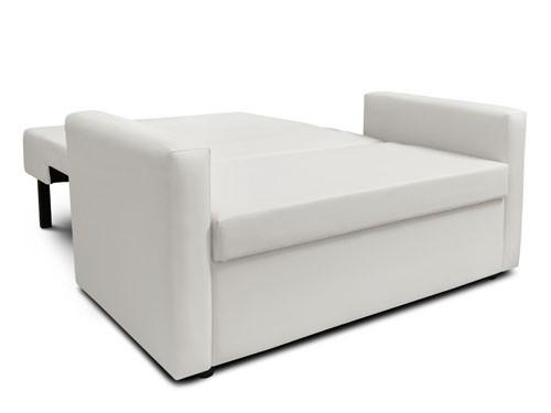 Sofa Cama 2 Cuerpos Eco Cuero Divan Ian