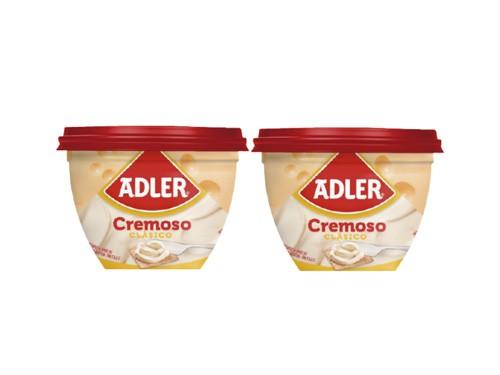 Adler Queso Untable Cremoso Clásico 190g
